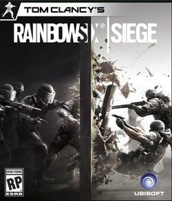 Tom clancy's rainbow six siege cover art